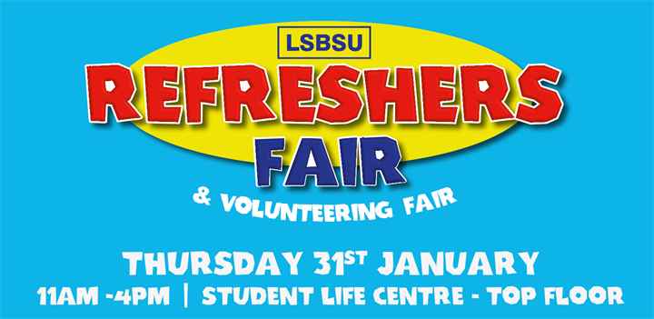 Refreshers Fair & Volunteering Fair