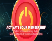 Activate your membership & unlock your student experience